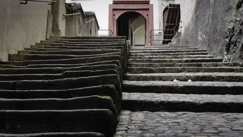 Steps Built Structure Architecture Stairs Door The Way Forward Staircase Step Entrance No People Building Exterior Midevil From My Point Of View EyeEmSwiss Castle Lenzburg History Stairs Steps And Staircases Cobbled