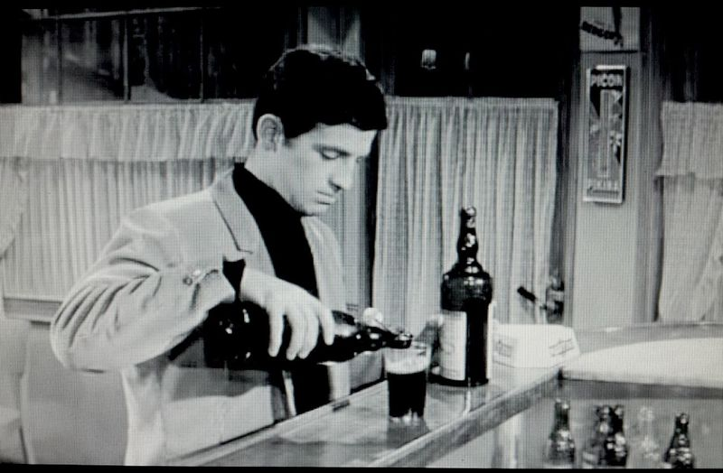 Beer France Watching A Movie Picon Un Singe En Hiver Audiard Gabin Belmondo