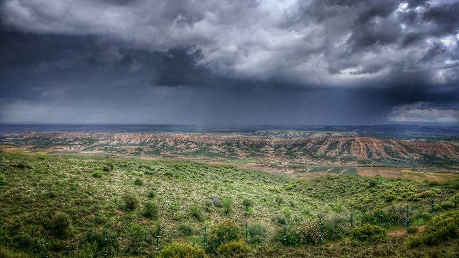 Landscape Storm Cloud