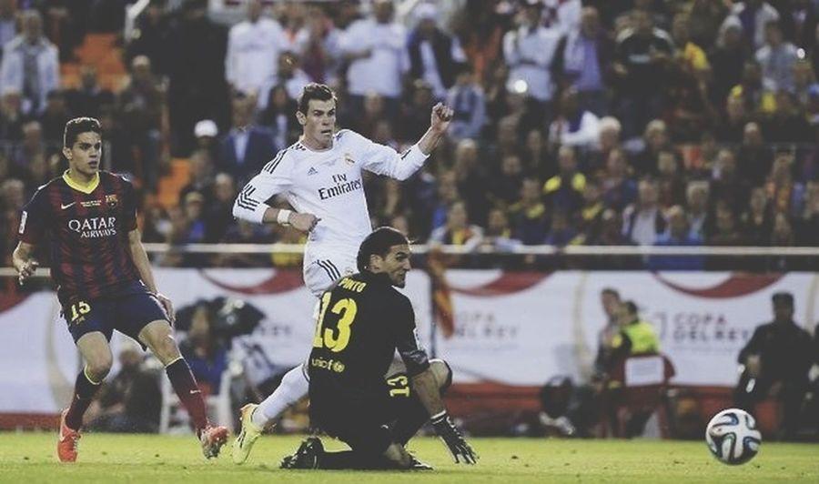 El Clasico Realmadrid Gareth Bale Copadelrey bless your life Gareth Bale, bless your fucking life.