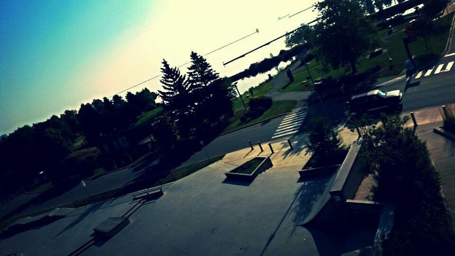Till then sit your drunk ass on that runway hoe ~ Unrelatedcaption Skateboarding Canyouevenskate Thunder Bay Marina Park Landscapes Waterfront Beautiful Mak3billions4u Follow4follow