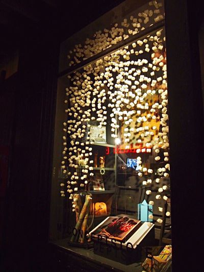 Marshmallow Snow ☃️ Shop Window Reykjavik Iceland North Europe Nightphotography Cityscape Marshmallows Sweet Windows_aroundtheworld Iceland_collection Europe Trip Snowing Wintertime IPhone Photography Iceland Memories Iceland Trip EyeEm Best Edits Lovely Place Marshmallow Time!  アイスランド ヨーロッパ マシュマロ ショーウィンドウ