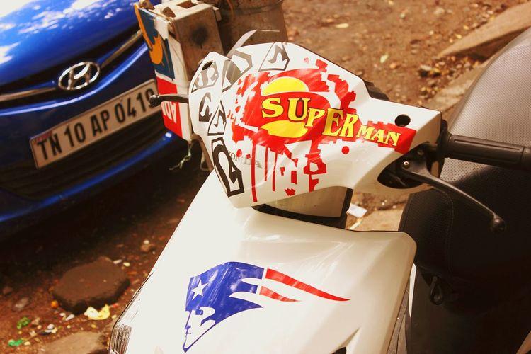 Honda Stickiepic Superman ♡