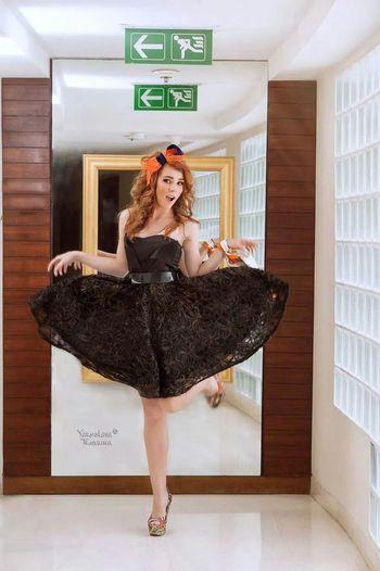 Model Follow Russian Photo Shoot
