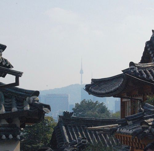Korea Hanok Namsan Tower  EyeEmNewHere