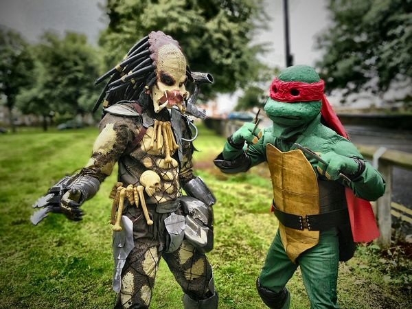 Cosplay Fancy Dress Ninja Turtles Predator