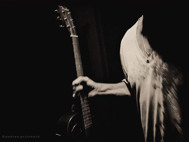 """""""When words leave off, music begins"""" Montréal Musician Music Is My Life Guitar Blackandwhite Dream Tapestries Shootermag EyeEm Best Shots - Black + White Fine Art Photography TakeoverMusic"""