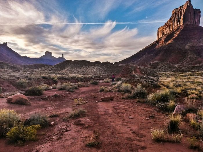 Sometimes approaching the rock climb can be just as enjoyable as the climb itself. Castle Valley Utah Deserts Around The World Moab  Utah Rock Climbing