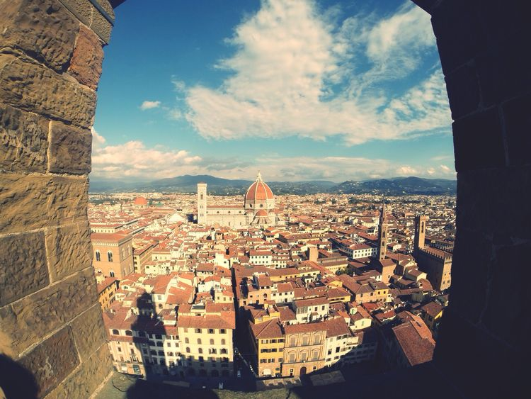 Beautiful Florence. View from Palazzo Vecchio. Firenze Florence PalazzoVecchio Gopro GoPro Hero3+ Italia Italy First Eyeem Photo