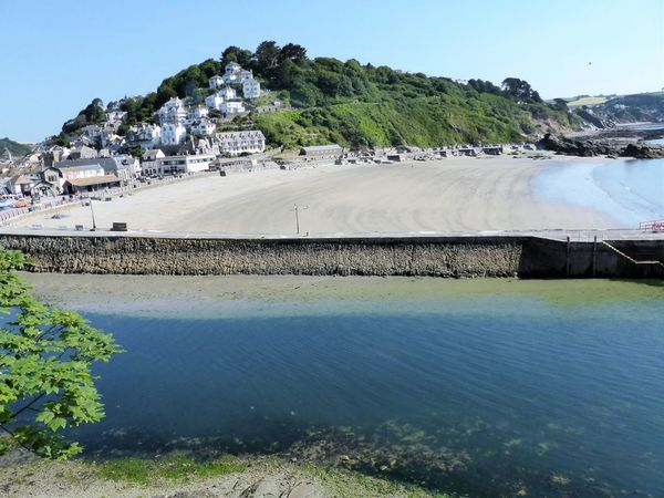 Beautiful Looe Architecture Beauty In Nature Built Structure Clear Sky Cornwall Day Fishing Landscape Looe Looe Harbour Mountain Nature No People Outdoors Scenics Sea Sky Tranquil Scene Tranquility Tree Uk Water
