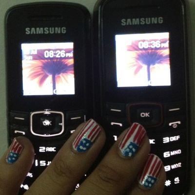 Samsung phone sah Sun!