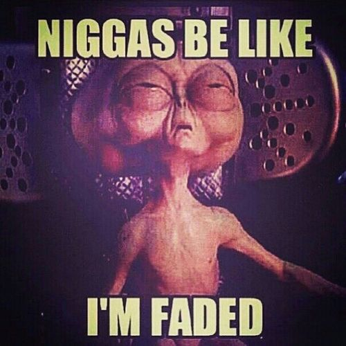 Alien Funny Faded Smoking Weed Mars #Faded #Gone