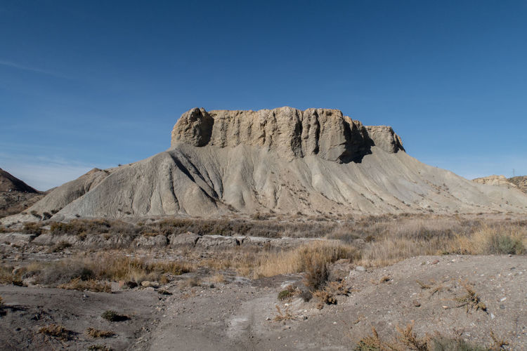 Tabernas desert, Spain Tranquil Scene Tranquility Stay Out Desert Nature Sky Landscape Blue Day Andalucía Outdoors SPAIN Western Mountain Europe Andalusia Clear Sky Scenics Beauty In Nature No People Tabernas Physical Geography Rock - Object Arid Climate Go Higher Tabernas Desert