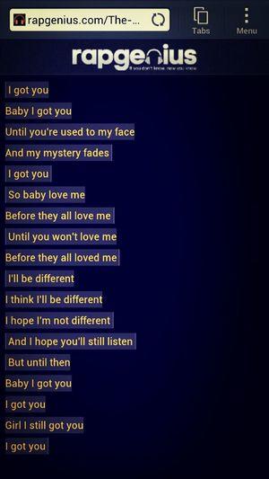 rolling stone ending lyrics -The Weeknd