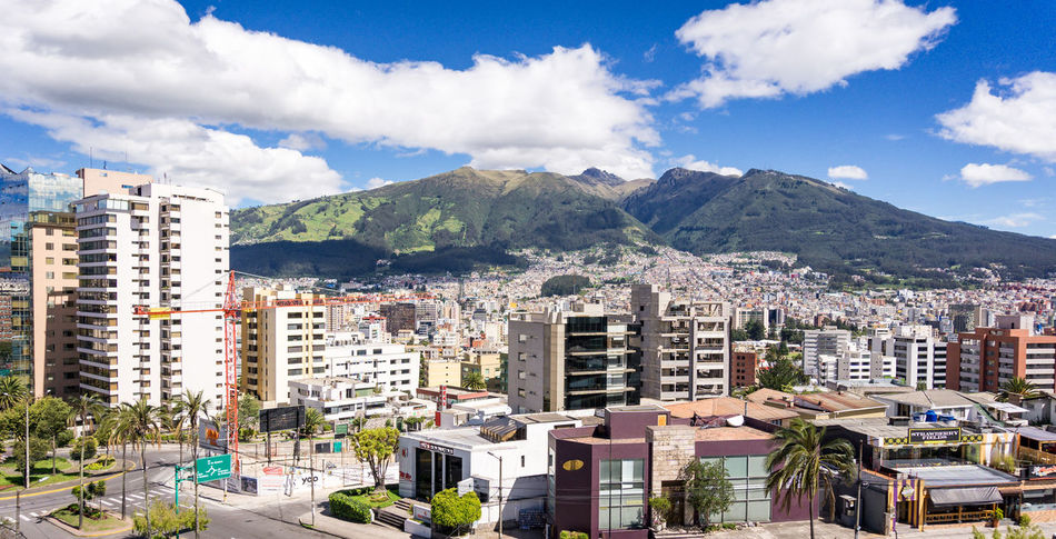 Gonzalez Suarez Rucu Pichincha Architecture Building Exterior Built Structure City Cityscape Cloud - Sky Crowded Day Growth Mountain Mountain Range Outdoors Residential Building Sky Town Urban Skyline
