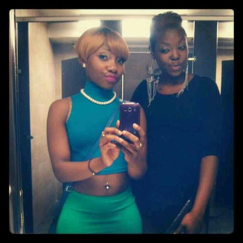My Birthday Blonde Bad Yolo,bitch Virgo #tb  Me & My Sister