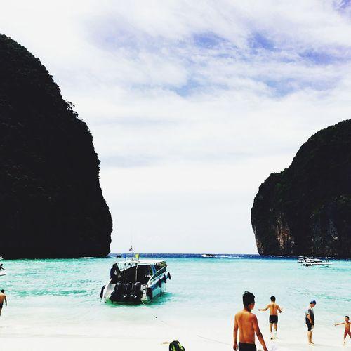 Indianocean Beauty In Nature Beach Weekend Activities James Bond Sea And Sky Maya Bay Islands Phuket Thailand