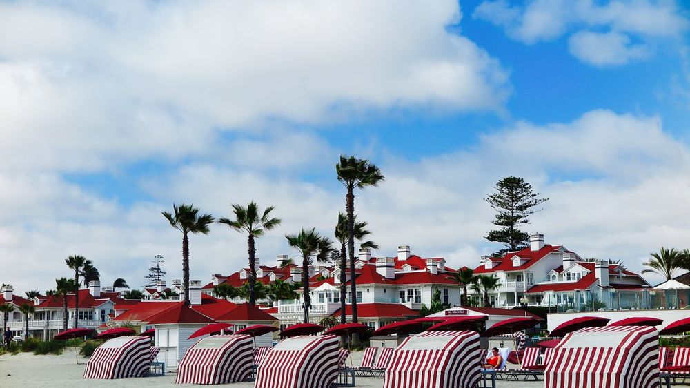 Hotel Del Coronado Enjoy Life To The Fullest❤ Hotel Del Coronado Life Is Good Perfect Moment San Diego Ca Strong Colors Summer Time  United States