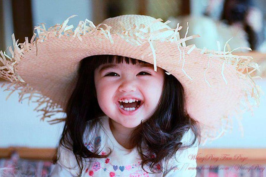 Cute Baby Smile Sweet Baby Girl