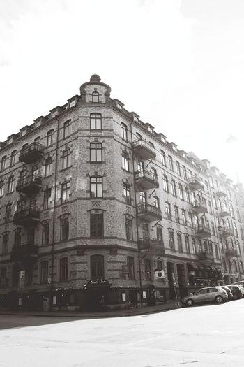 Gothenburg Sweden Ikea-land Black And White