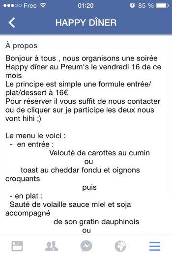 Restaurant Le Preum´s 70 Rue Du Mont Cenis 75018 Paris