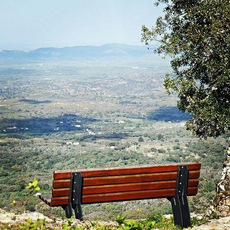 outro ponto de vista another point of view [marvão, portalegre] Vista Banco Arvore Paisagem Verde Alentejo Altoalentejo View Viewpoint Green Landscape Portugal
