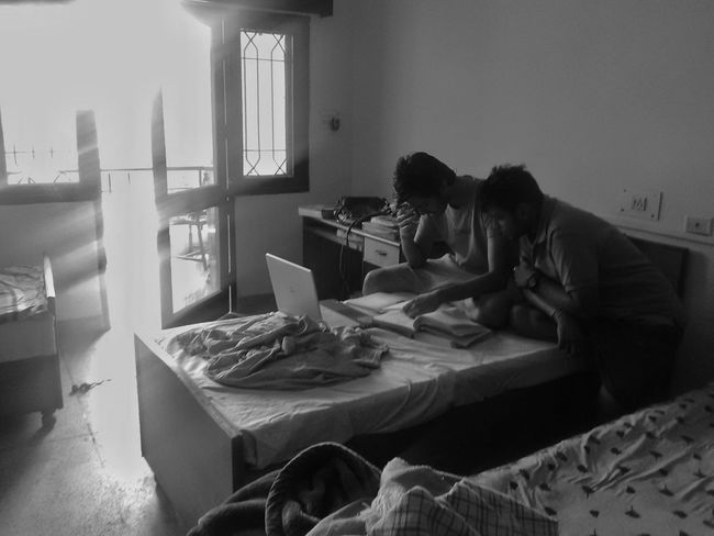 Study Room Hostel Student Messy College Learning Education Rote Stress