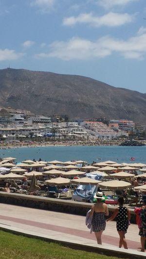 Tenerife Tenerife Island Tenerife España Summertime Water Nautical Vessel Harbor Sea Beach Mountain Commercial Dock Town Archipelago