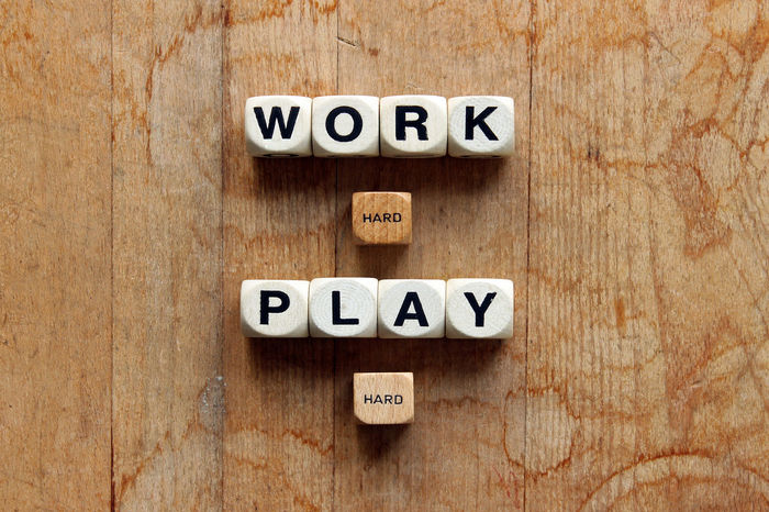 Work Hard Play Hard Balance Communication Efforts Inspirational Quote Motivational Motivational Quotes Symbol Word Play Words Words To Live By  Work Work And Play  Work Hard! Working