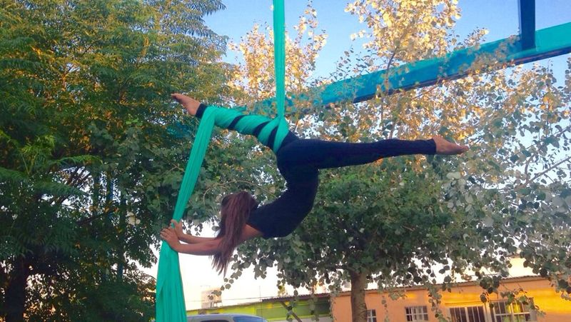 Aerialsilks Aerialist Aerialhoop Aerial Dance