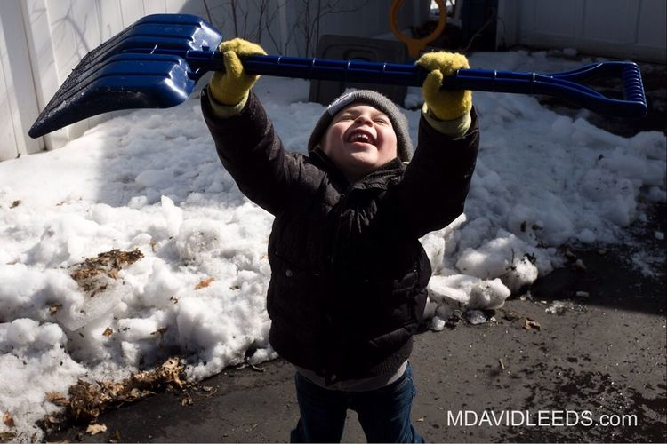 Raise your hand if you have ever been this excited to shovel snow.. in mid March. Beautiful Day Mdavidleeds Photos Fuji X100s Love