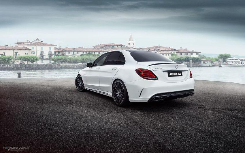 Mercedes-Benz C63 AMG Fernandezatwork Supercars Cars Carphotography