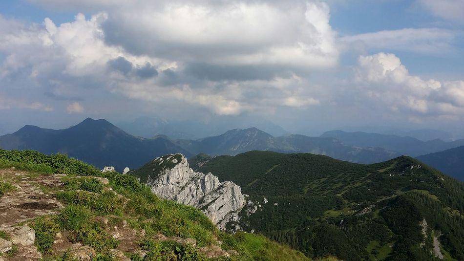 Alpen Bayern Hiking Hiking Trail Bergwelten Bergwandern Landscapes Panorama Mountains Rotwand Panoramic View Mountain Ridge