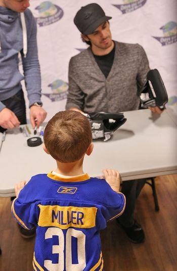 Buffalo Sabres Ryan Miller Signing