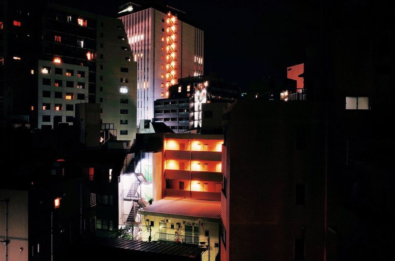 City Cityscape Landascape Tokyo Architectural Style Architecture Building Exterior Built Structure City Cityscape Illuminated Modern Night No People Outdoors Residential  Skyscraper