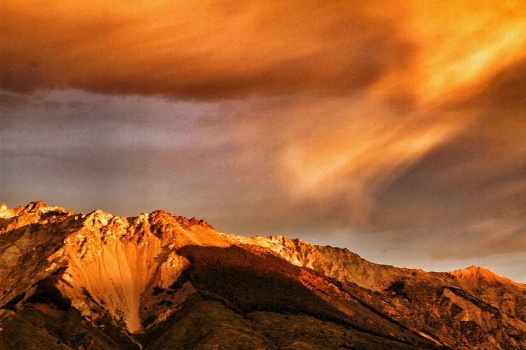 #sunset #redrock EyeEm Selects Astronomy Galaxy Mountain Rock - Object Star - Space Rock Formation Sky Landscape