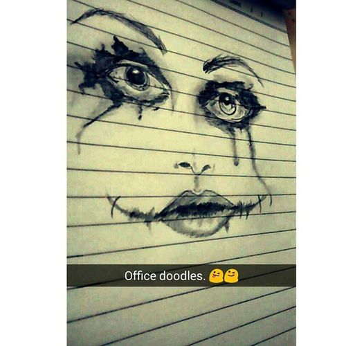 """Nobody panics when things go 'according to the plan'. Even if the plan is horrifying.."" Joker Artwork. Internshiptimes Office Doodles Delhi DiariesTheJokerHeathLedgerLegendArtworkSnapchatChelseaGrinvscogridvscoeditvscolovevscoindiaTheDarkKnightinstalikeinstalovesempiternalBnW."