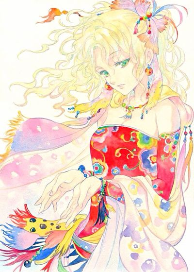 Art Anime Beaytiful Mylife4anime Deviantart ArtWork Finalfantasyvi Finalfantasy Terra