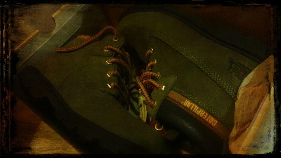 Finally My New Caterpillar Shoes Happy :) TooDay ♡♡♡♡♡