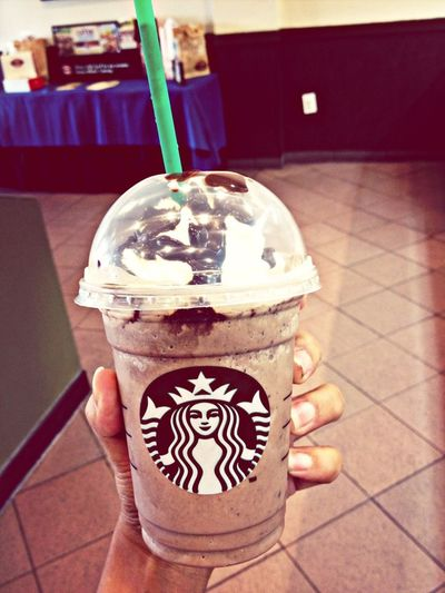Starbucks Double Chocolate Chip Frap