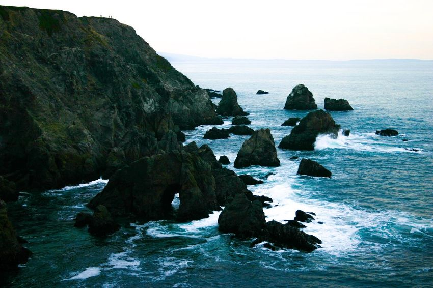 Sea Rock - Object Rock Formation Scenics Rock Nature Horizon Over Water Beauty In Nature Wave Tranquil Scene Water Landscape Travel Destinations Beach Outdoors Sky Day Tranquility California Dreamin