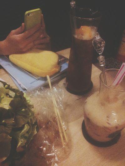 Milk Tea Peach Tea Friend Study