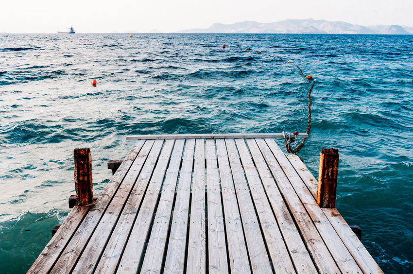 Been There. Animal Themes Beach Beauty In Nature Day High Angle View Horizon Over Water Jetty Nature Nautical Vessel No People Outdoors Pier Scenics Sea Sky Transportation Water Wood - Material Wood Paneling