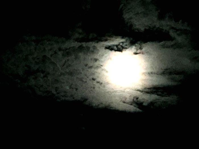 Midnight moon, full moon