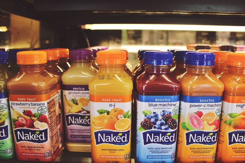 GET NAKED Colors Food Naked