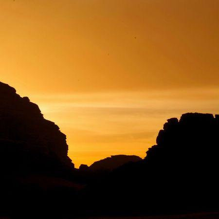 صباح الخيرر ، سيلويت من رحلتي لتبوك الورد .. Nikon تصويري  Nikon D800 Landscape
