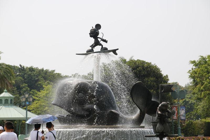 HongKong Hong Kong Disneyland DisneyLandHongKong Disneylandresort Disney Land Disney Mickey Mouse Mickeymouse Mickey Fountains Fontaine Wails