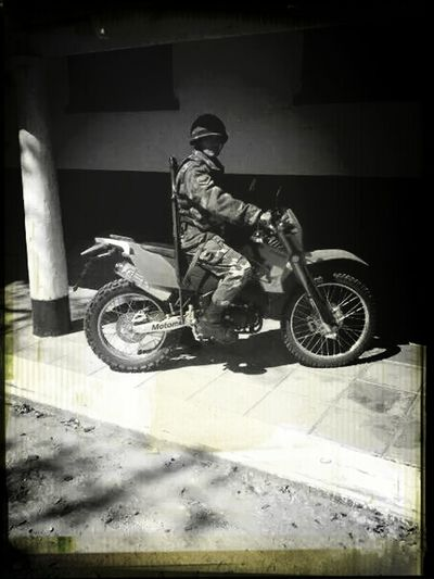 That's Me Motorbike Military Gray Day.
