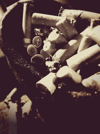 Vintagefilter Monochrome IPhoneography Light And Shadow Cigarettes お疲れ様でした😊
