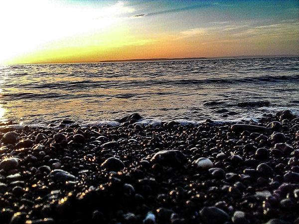 Rocky Coastline Sunset #sun Clouds Skylovers Sky Nature Beautifulinnature Naturalbeauty Photography Landscape [a:172019] Bayoffundy Novascotia Nature a:5930160] EyeEm Best Shots EyeEm Nature 43 Golden Moments
